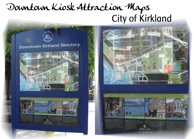 City of Kirkland-Downtown Kiosks