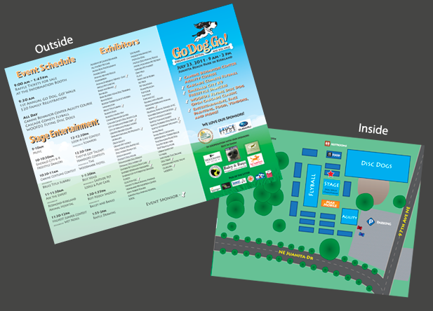 Go Dog Go Trifold Brochure