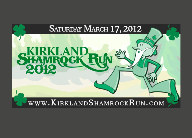 Shamrock Run TV Graphic